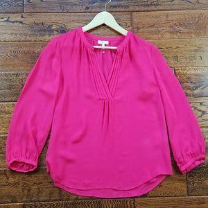 <Joie> silk pink blouse